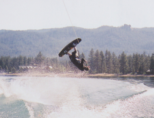 Some old wakeboarding shots
